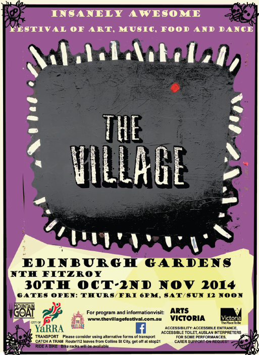 Village EG14 artwork