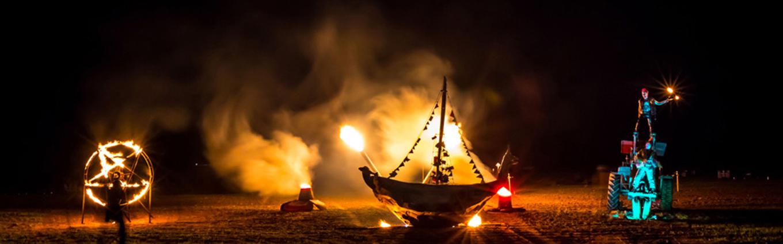 Fire Show Winterfest