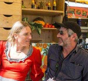 Suzanne Kalk and Stuart Vaskess